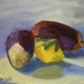 $35 – Oil on canvaspanel