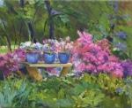 "Garden Menagerie 8"" x 10"" Oil"