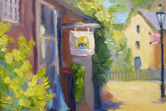 "5"" x 7"" oil on canvas New Hope"