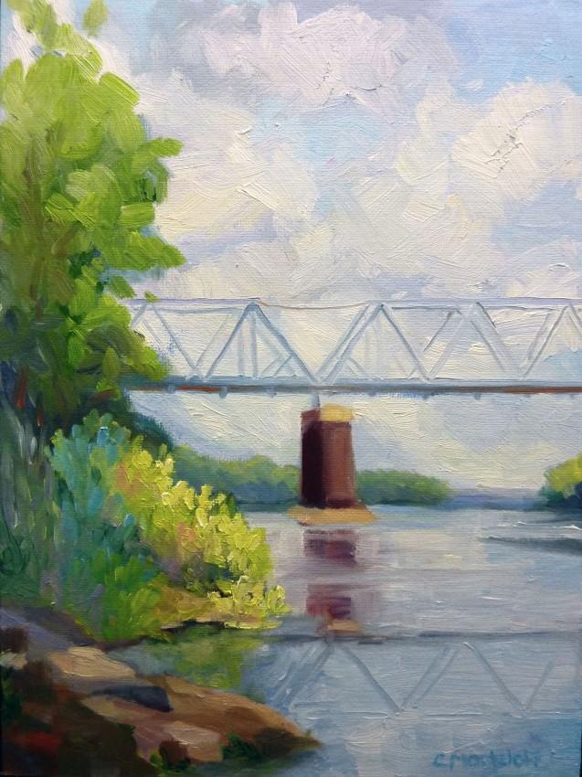 Crossing the Delaware 9 x12
