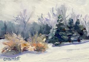 """Winter Sketch"" 7""x 5"""