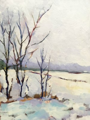"""""""Winter Afternoon"""" 9"""" x 12"""""""
