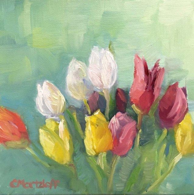 Primary Tulips 6 x 6_5333B
