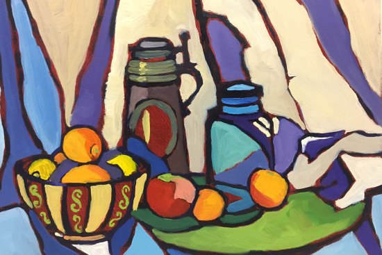Original still life oil painting