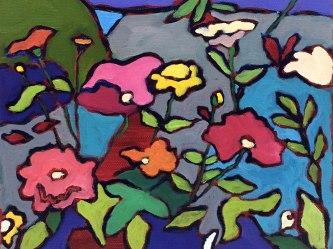 """""""Flower Garden"""" 8""""x 10"""""""