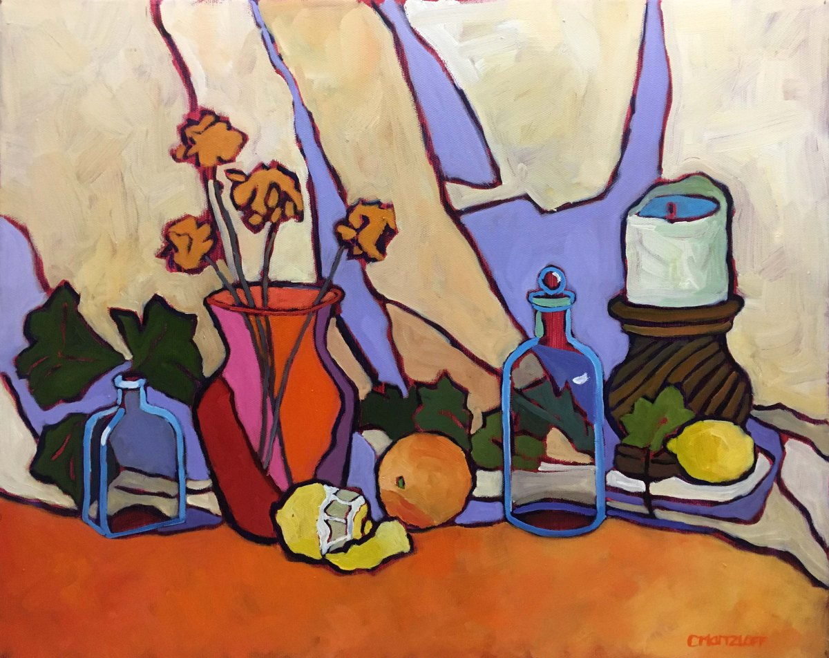 Vanitas still life oil painting
