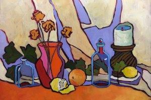 Vanitas still life oil painting