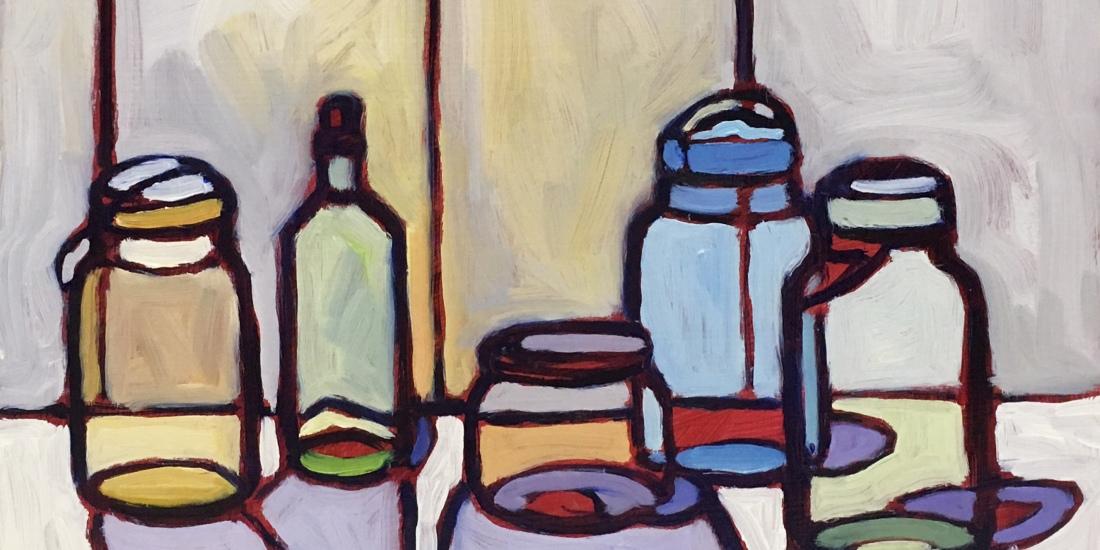 SOLD Still Life Painting