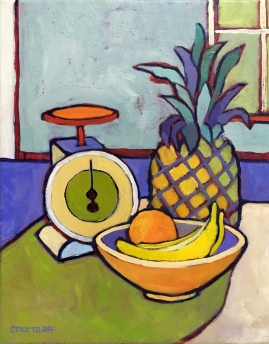 """""""The Abstract Pineapple"""" 14""""x 11"""""""