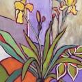 Yellow Iris Bloom 18 x14_4974