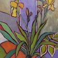 Yellow Iris Bloom 18 x14_4979B