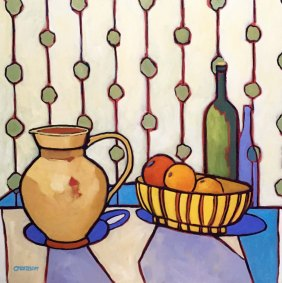 """""""The Artists Table"""" 30""""x 30"""""""