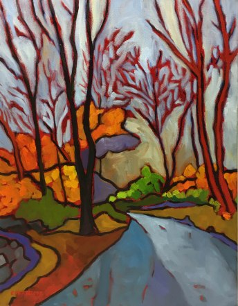 """""""A Walk in the Woods"""" 18""""x 14"""""""