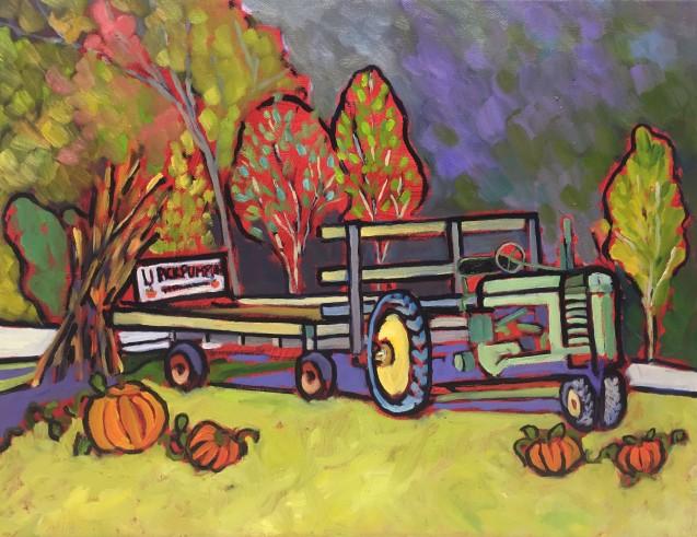 U Pick Pumpkins 14 x 18_7125
