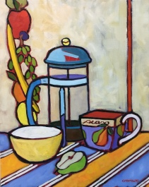 """""""The French Press"""" 20""""x 16"""""""