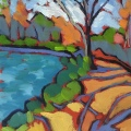 $70 – Oil on canvaspanel